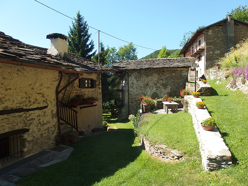 Hütten-in-Piemont
